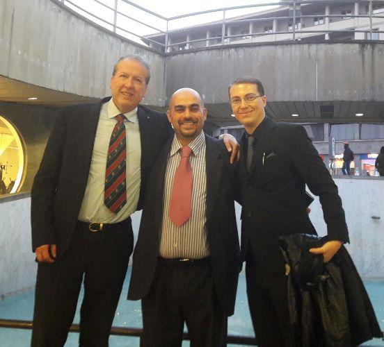 Claudio Ciampi, Michele Borghetti e Marco Capaccioli