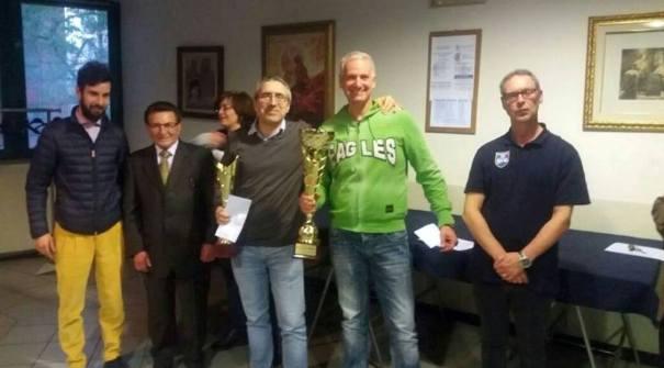 I vincitori Mario Fero e Michele Maijnelli